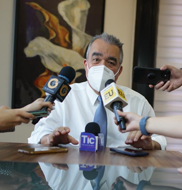 """Dip. Luis Eduardo Martínez: """"24 propuestas de Leyes han presentado a la Comisión para el Diálogo, la Paz y la Reconciliación"""""""