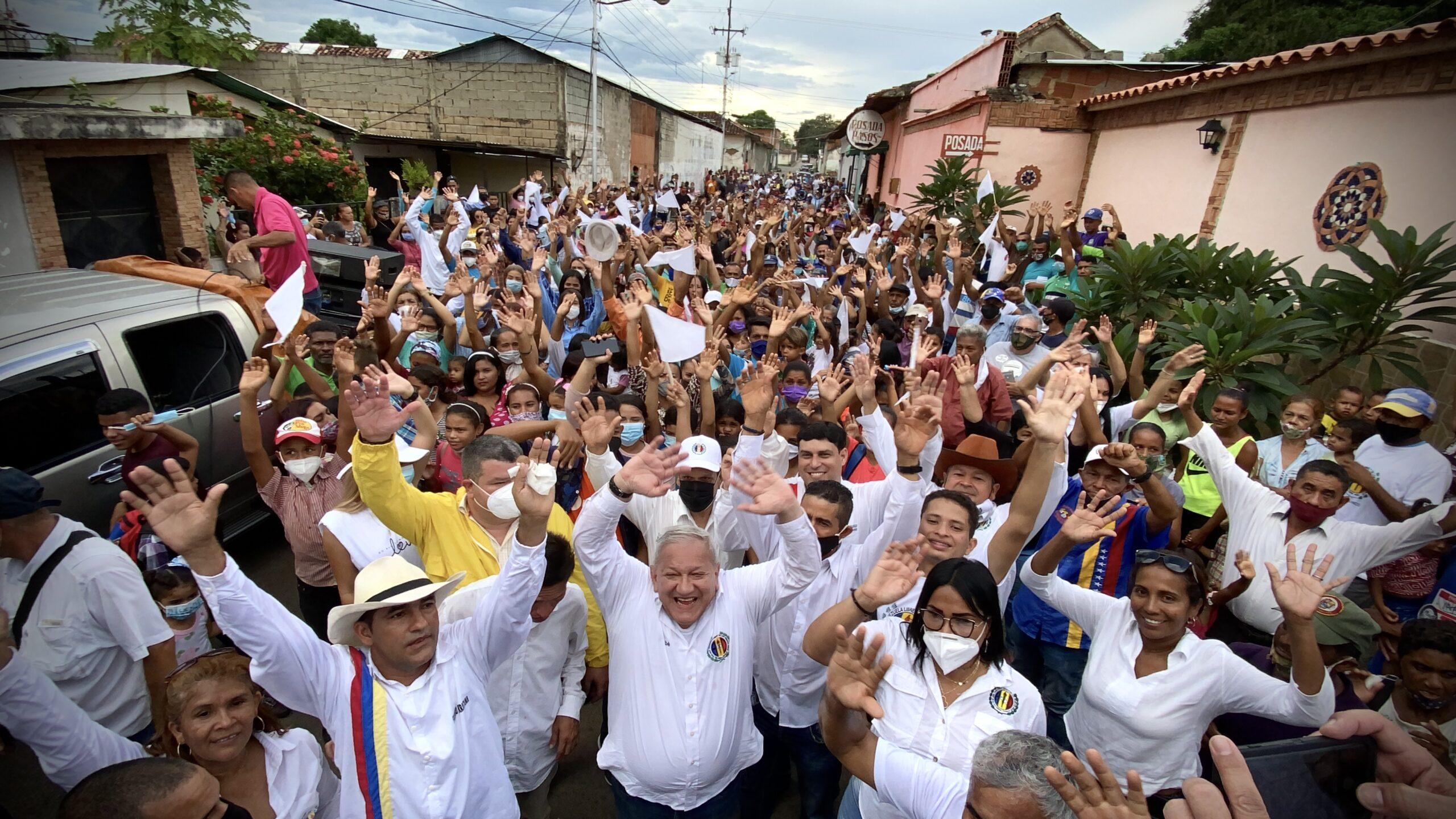 """Bernabé Gutiérrez desde Guárico: """"La solución para derrotar al mal gobierno de Maduro, es la unidad de todos los venezolanos"""""""