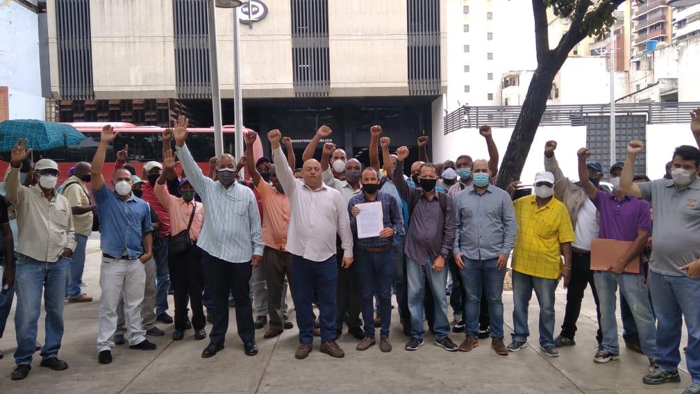 Sindicalistas piden al Fiscal General el cese de la violaciones de los derechos de los trabajadores