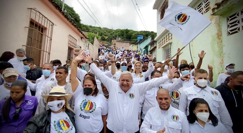 """Bernabé Gutiérrez: """"Maduro saldrá de Miraflores con votos"""""""